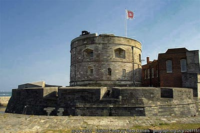 Calshot Castle as it is today