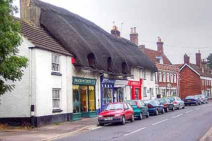 Ringwood - thatched cottages add charming character