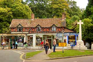 Burley village offers just one of many enjoyable days out