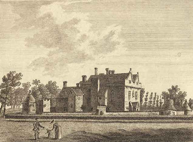 Beaulieu - Palace House in the late 18th century