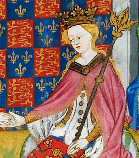 Margaret of Anjou, wife of King Henry VI, sought sanctuary at Beaulieu Abbey