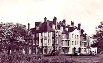 The Balmer Lawn Hotel in the early 20th century