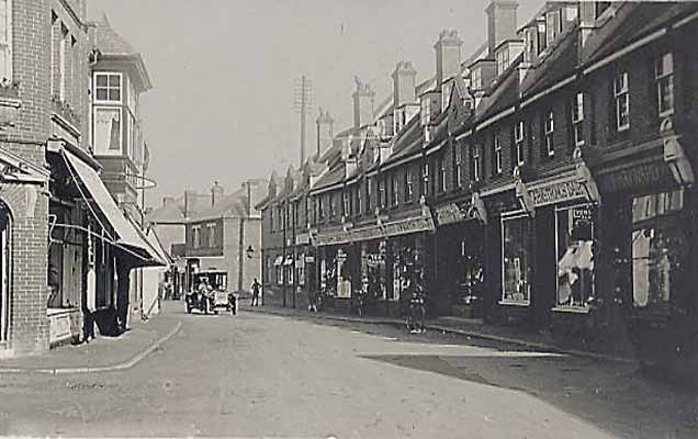 Brookley Road in the early 20th century