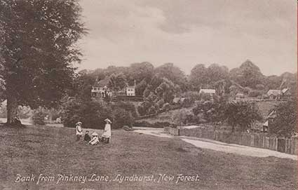 Bank from Pinkney Lane - an early image