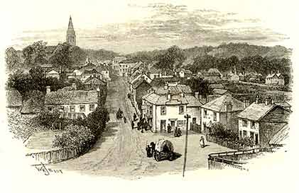 An 1880s view of Lyndhurst