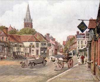 The Fox and Hounds, Lyndhurst - historical image