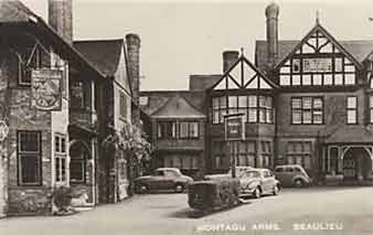 The Montagu Arms - historical image