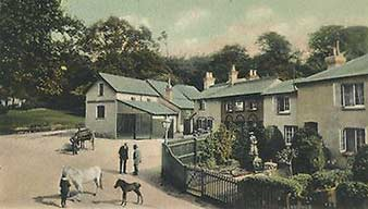 The New Forest Inn, Emery Down - historical image