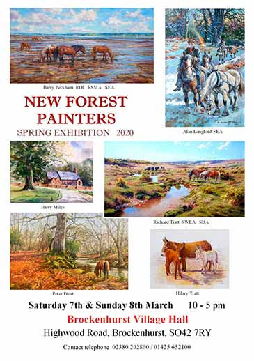 New Forest Painters Spring Exhibition